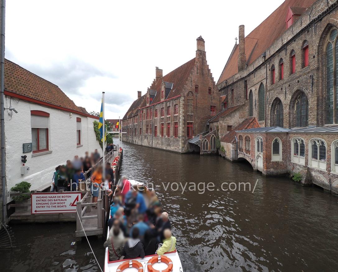 Bruges by Boat Entrance