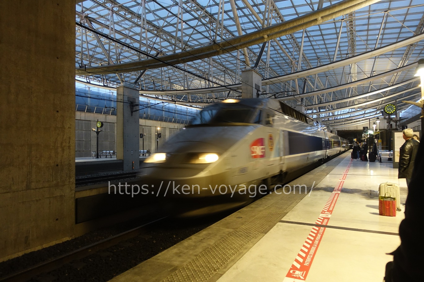 TGV at CDG
