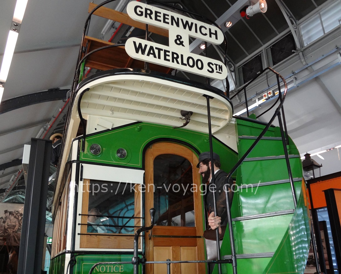 Greenwich train at Transport Museum