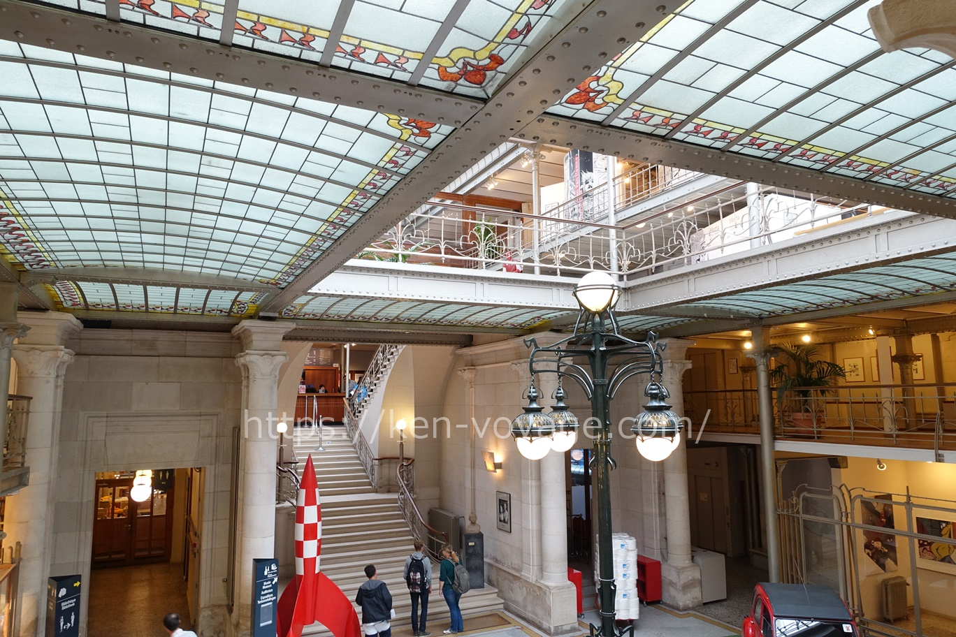 Musée belge de la Bande dessinée