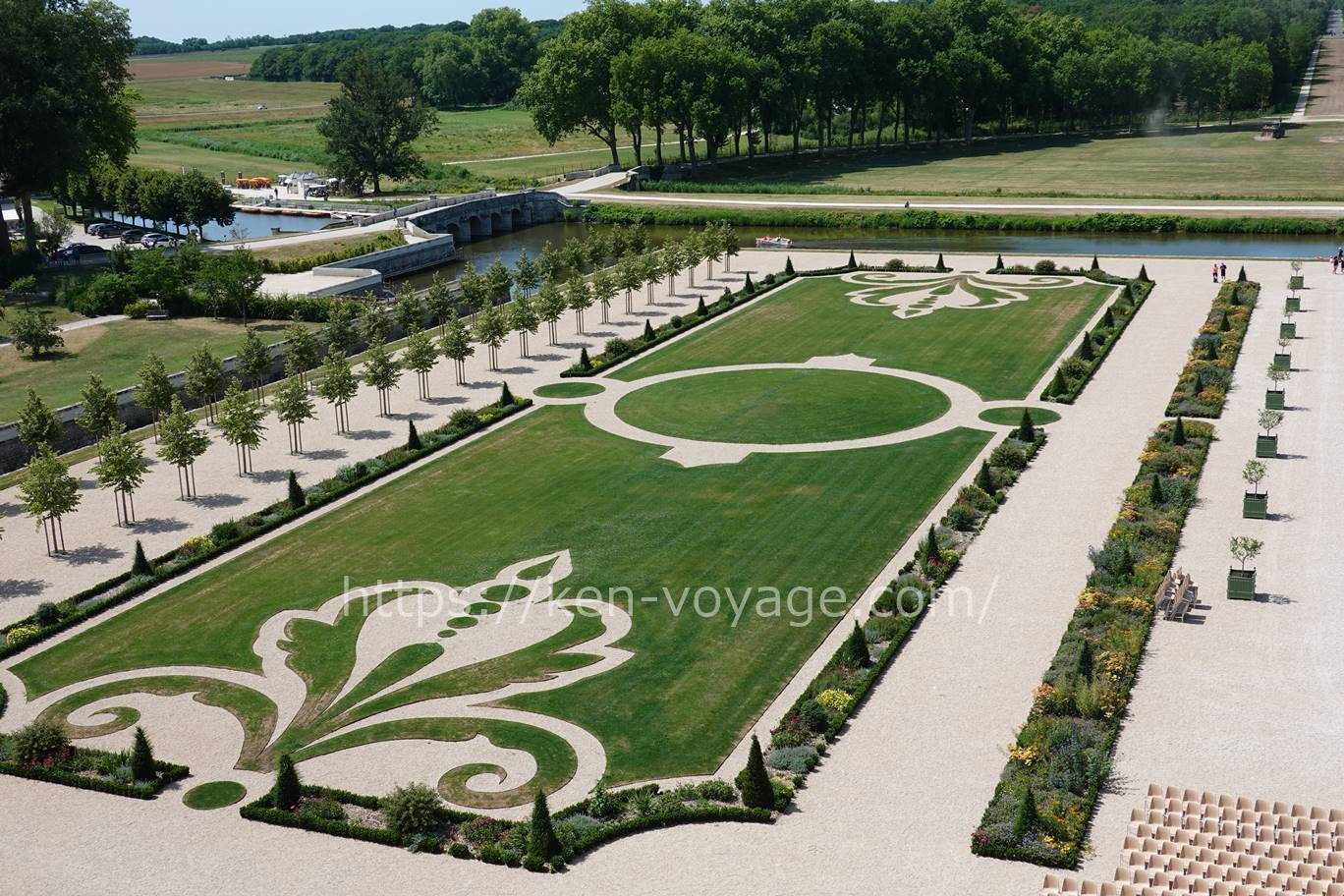 Chambord Garden