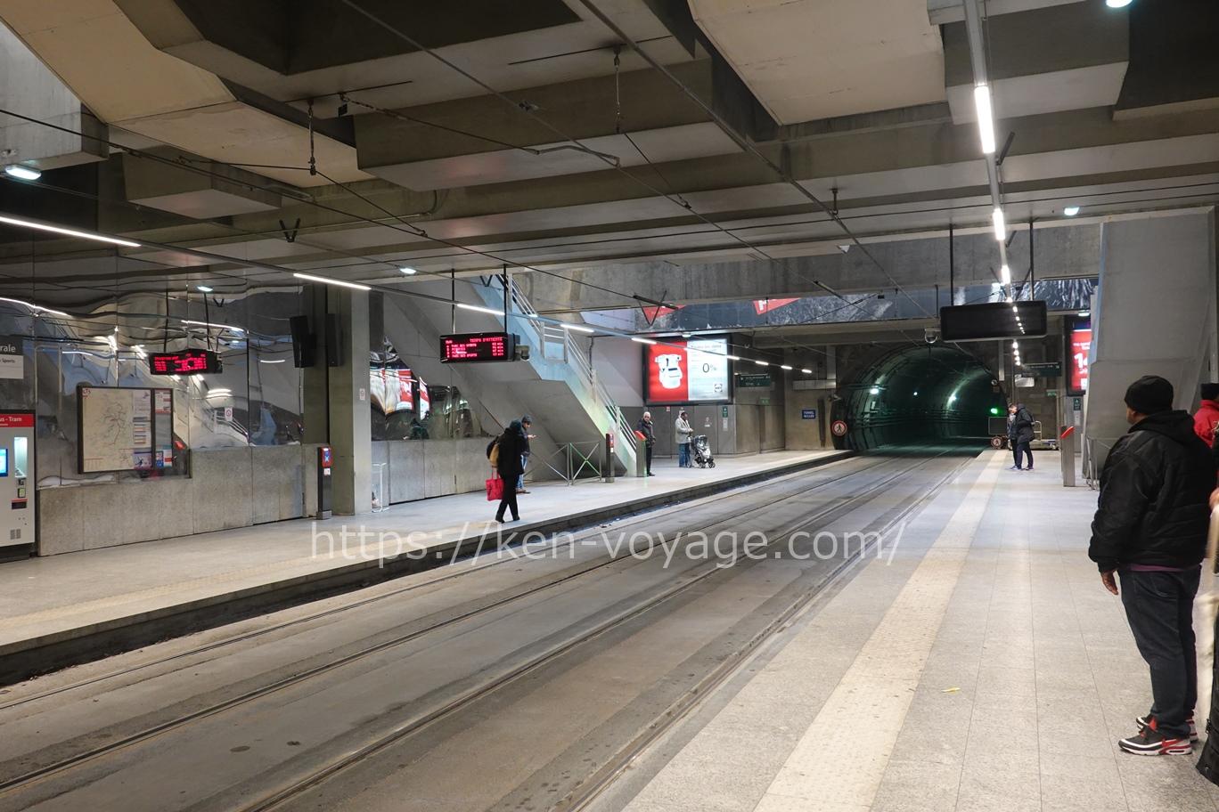 Strasbourg tram station